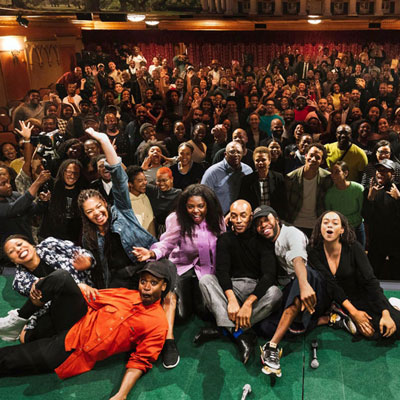 At 'Black Out' Performances, the Power of Healing Through Community