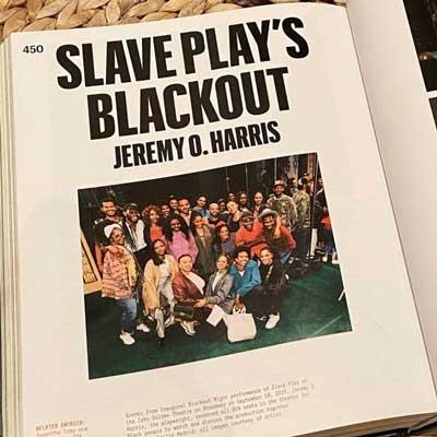 THE NEW BOOK <em>BLACK FUTURES</em> HIGHLIGHTS <em>SLAVE PLAY</em> AND JEREMY, ALONGSIDE OTHER BLACK CREATORS